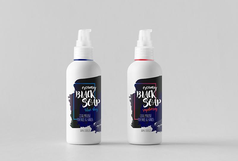 bob agency - Branding & Packaging for Black Soap